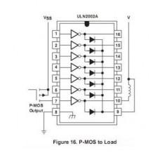 ULN2002A Array Transistor Darlington 7bit 50V