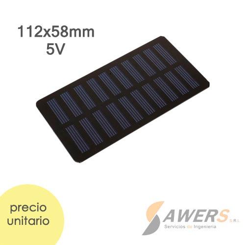Panel Solar Diy 6v 1W 53*30mm