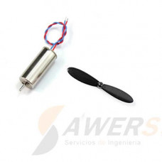 Motor Minidrone Brushed   Propeller