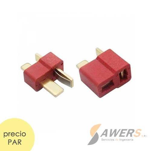 Conector T Macho/Hembra