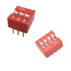 Switch Digital 2.54mm 3Bit y 4Bit