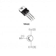 TIP42 Transistor bipolar 100V 6A PNP