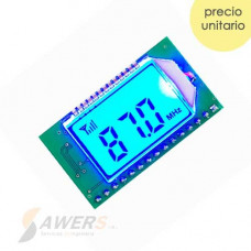 Receptor FM 87-107Mhz PLL LCD (programable)