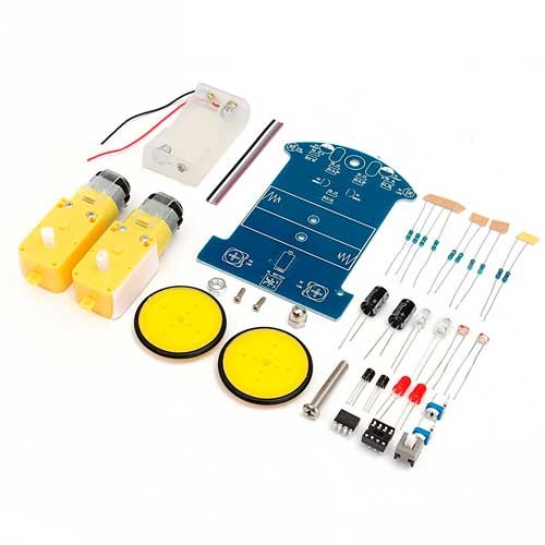 Kit Armable educativo Robot Seguidor de Luz