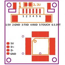 R307 Sensor Optico de Huella UART