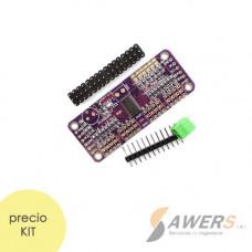 PCA9685 Controlador de Servos PWM 16CH (KIT)