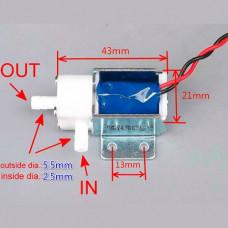 Valvula Solenoide electrica (mini) NO 12V 7psi
