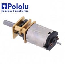 Micro Motor Pololu 10:1 HPCB 6V eje Extendido