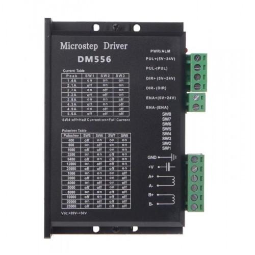 Driver Stepper 24-50 VDC 2.1 A to 5.6A DM556