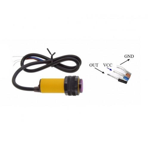 Sensor de distancia Infrarrojo E18-80NK