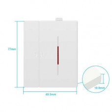 Sonoff DW2-RF Sensor Puertas/Ventanas RF-433Mhz 50Mts