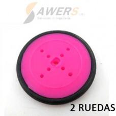 2x Polea y Rueda 42mm (pololu compatible)