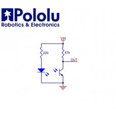 Sensor de Linea QTR-1A Original (Par)