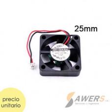 Mini Ventilador 25x25mm (5V-12V)