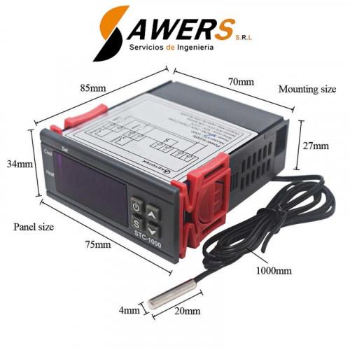 STC-1000 Termostato Digital 220VAC 10A