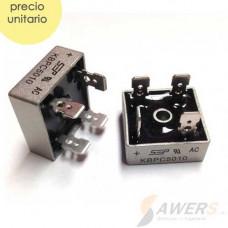 KBPC5010 Puente de diodo Rectificador 50A 1000V