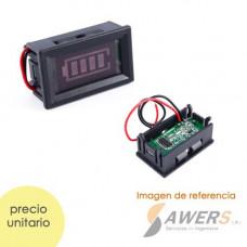 Indicador de voltaje bateria de Acido-Plomo 12V