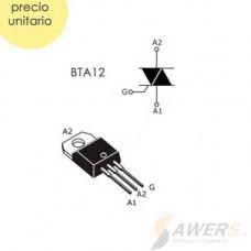 BTA12 Triac 12A 600V TO220
