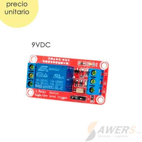 Modulo Relay 1CH 9VDC Optoacoplado