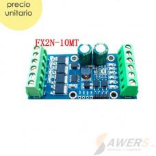 FX2N-10MT Controlador Industrial PLC 10CH I/O Mosfet