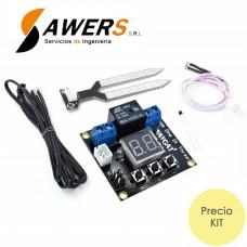 VHM-014 Controlador de humedad, luz y temperatura