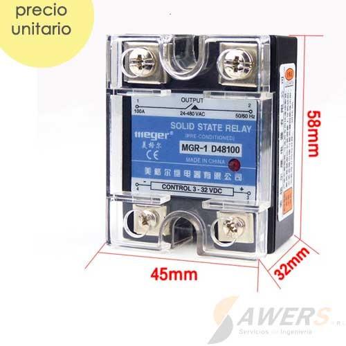 Relay SSR MGR-1 D48100 480VAC 100A