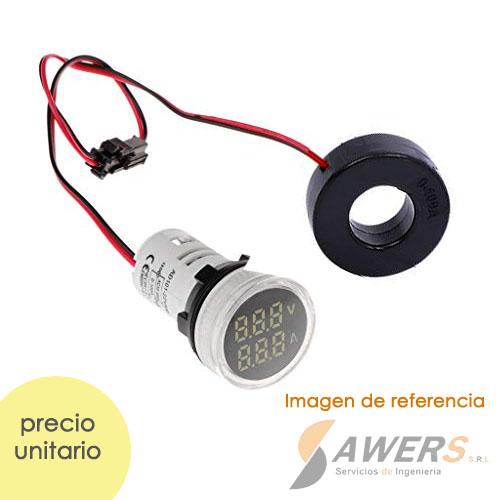Voltimetro Amperimetro Digital AC 500V 100A