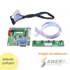 MT6820 Placa LVDS 30P Universal Pantalla LCD