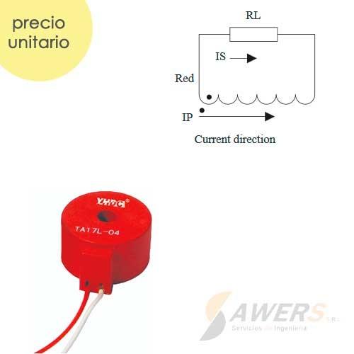 TA17L-04 Transformador de corriente AC 0-20A