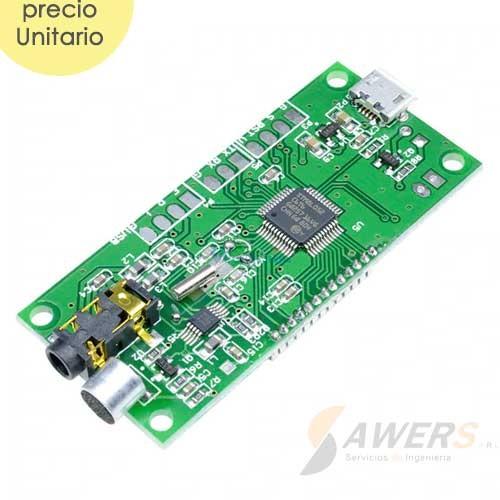 Transmisor FM Digital DSP PLL 87-108Mhz 3W