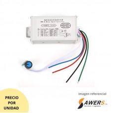 Controlador de velocidad Motor PWM 60V 20A 1200W