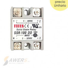 Relay de estado solido SSR-100DD 60VDC 100A