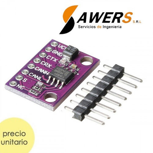 TJA1051 Transceptor de datos CAN BUS (high-speed)
