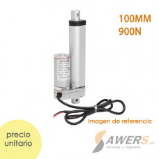 Actuador lineal electrico 90mm 12V 100N