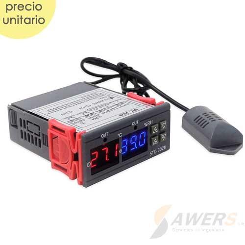 STC-3028 220V-10A Higrometro temperatura-humedad