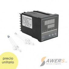 REX-C700 Controlador Digital PID de Termocupla 220VAC