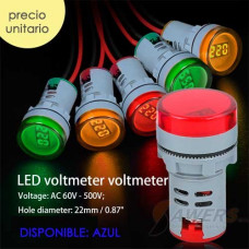 AD16-22DSV Voltimetro de Tablero 60-500VAC