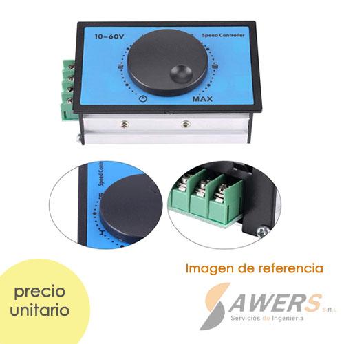 Controlador de Velocidad Motor Brushed 220VAC a 24V-2A