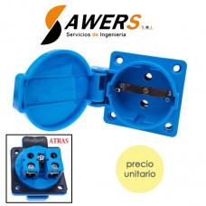 Enchufe Impermeable IP44 250V 40mm