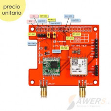 LoRa GPS HAT para Raspberry Pi 433Mhz