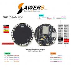 TTGO TAudio ESP32 SD-MPU9250-WM8978-WS2812
