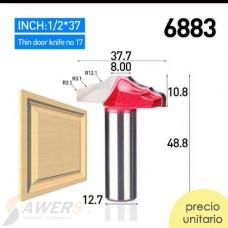 Broca Enrutadora para marco de puerta 12.7mm