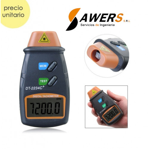 DT-2234C Tacometro Digital  Laser 2 a 99999RPM