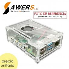 Case Acrilico Raspberry PI 4
