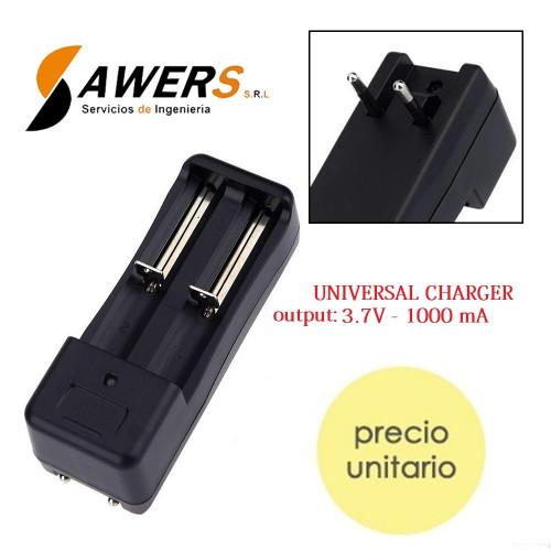 Cargador Universal Bateria LI-ION 18650-14500 3.7V