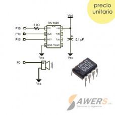 DS1620 Sensor Termostato Digital 9Bit