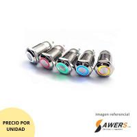 Modulo Laser 0.8W 405nm Lente Ajustable 12V PWM TTL
