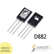 2SD882 Transistor NPN 40V 3A 80hFE 100Mhz