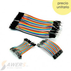 Kit 40pcs Dupont Cable M-H-M 10cm