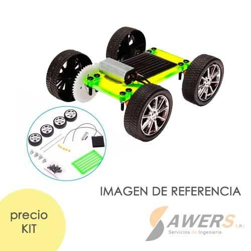 Kit armable educativo Coche Solar V.0